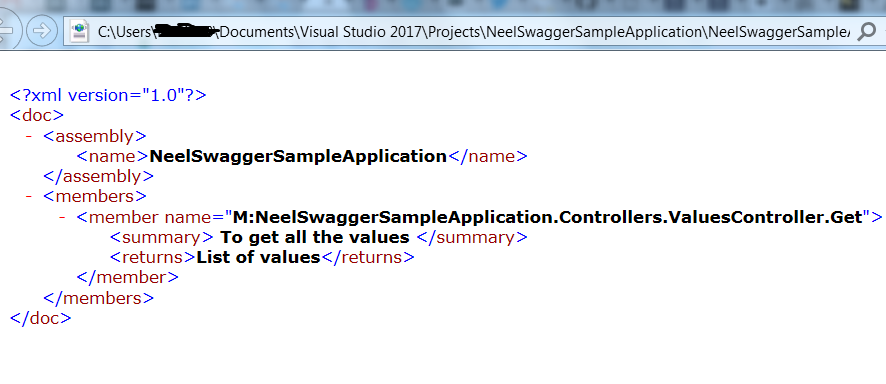 Enable Swagger in your  Net core 2 0 application: Step by step guide
