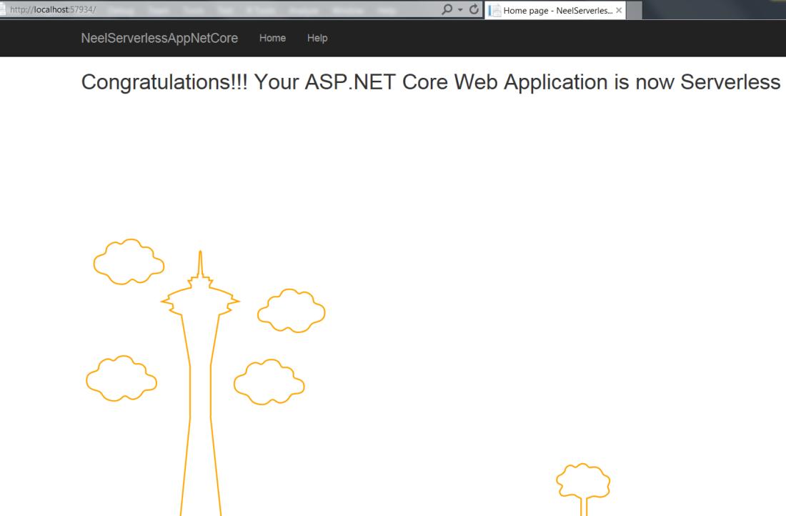 Serverless  Net Core(2 0) application with AWS Lambda: Step