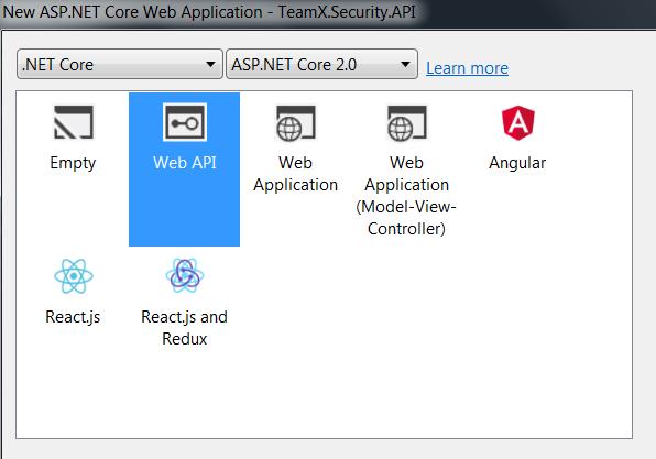 Web API Security with IdentityServer4: IdentityServer4 with