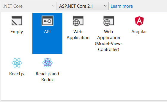 Create an application with Angular 6 and  Net Core: Step by step