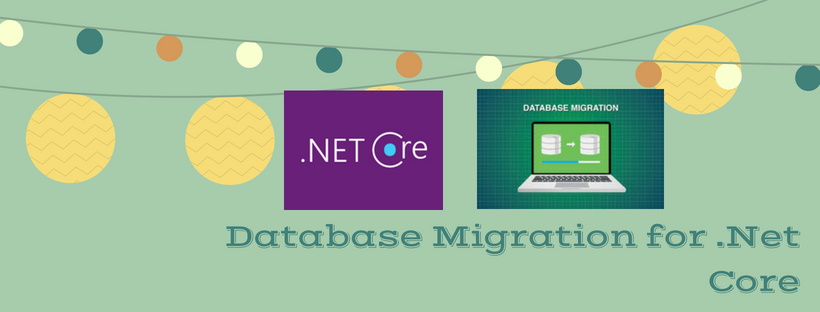 Database Migration for .Net Core